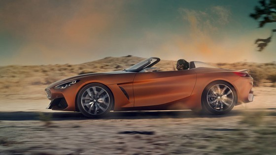 BMW Concept Z4 Roadster chinh thuc xuat hien hinh anh 2