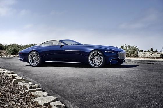 Maybach 6 Cabriolet concept - xe mui tran hang sang moi cua Mercedes hinh anh 8