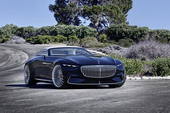 Maybach 6 Cabriolet concept - xe mui tran hang sang moi cua Mercedes hinh anh 1