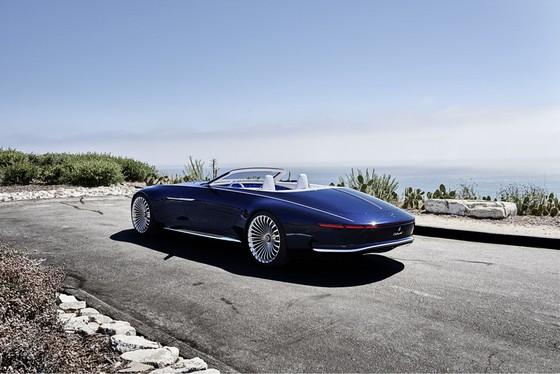Maybach 6 Cabriolet concept - xe mui tran hang sang moi cua Mercedes hinh anh 3