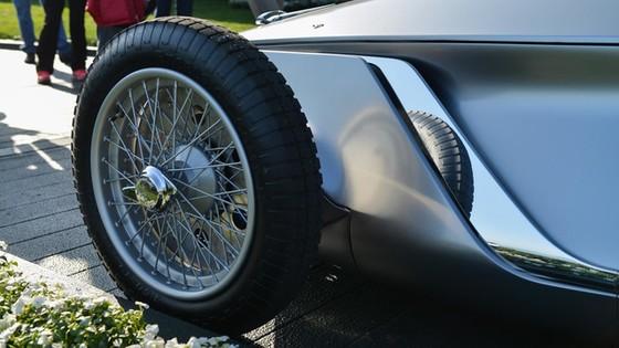 Ngắm xe tân cổ giao duyên Infiniti Prototype 9 bằng xương, bằng thịt - Ảnh 10.