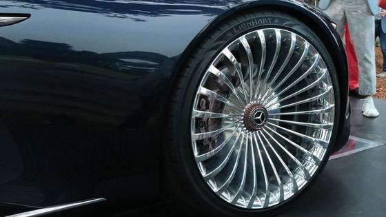 Chiêm ngưỡng vẻ đẹp xuất sắc của Vision Mercedes-Maybach 6 Cabriolet ngoài đời thực - Ảnh 5.