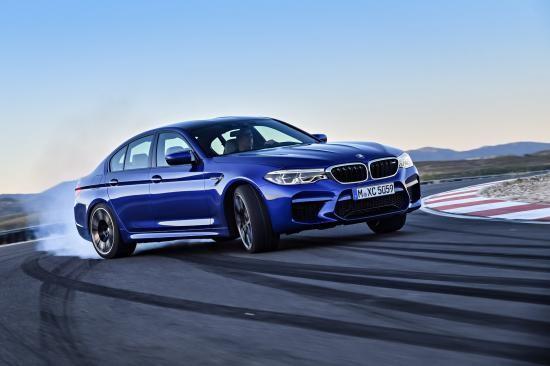 BMW trình làng sedan hiệu suất cao M5 2018 ảnh 3