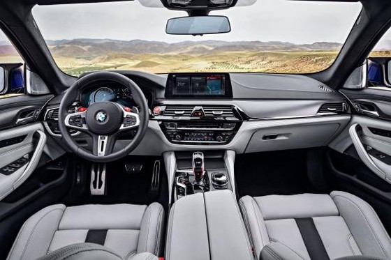 BMW trình làng sedan hiệu suất cao M5 2018 ảnh 35