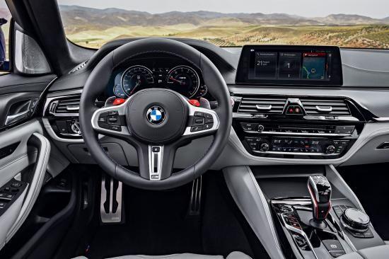 BMW trình làng sedan hiệu suất cao M5 2018 ảnh 34