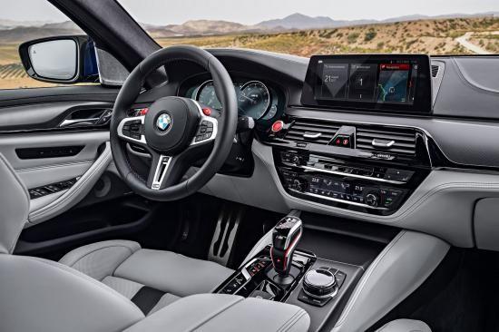 BMW trình làng sedan hiệu suất cao M5 2018 ảnh 33