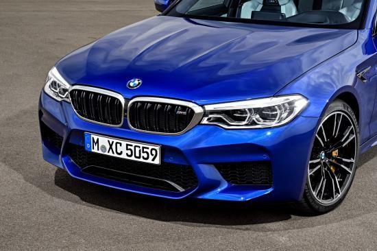 BMW trình làng sedan hiệu suất cao M5 2018 ảnh 24