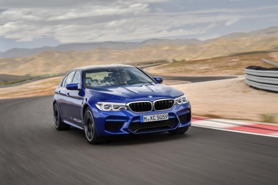 BMW trình làng sedan hiệu suất cao M5 2018 ảnh 20