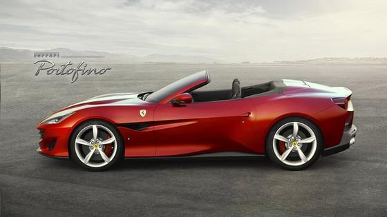 Ferrari Portofino - siêu xe mui trần thay thế California T - bất ngờ được tung ra - Ảnh 1.