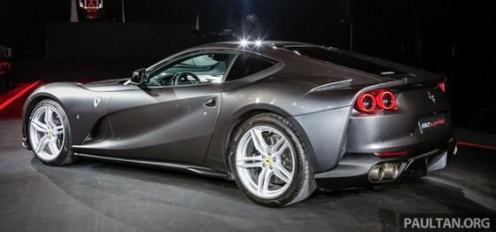 Siêu xe Ferrari 812 Superfast chính thức trình làng tại Đông Nam Á với giá chưa thuế 8,38 tỷ Đồng - Ảnh 9.
