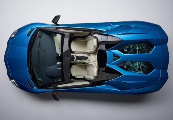 Lamborghini Aventador S Roadster - tuyet pham mui tran hinh anh 6