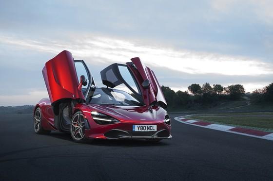 McLaren trinh lang 2 sieu pham Spider 570S va 720S hinh anh 1