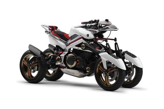 Yamaha MWC-4 - Xe 4 bánh mang cảm hứng mô tô và nhạc cụ - Ảnh 1.