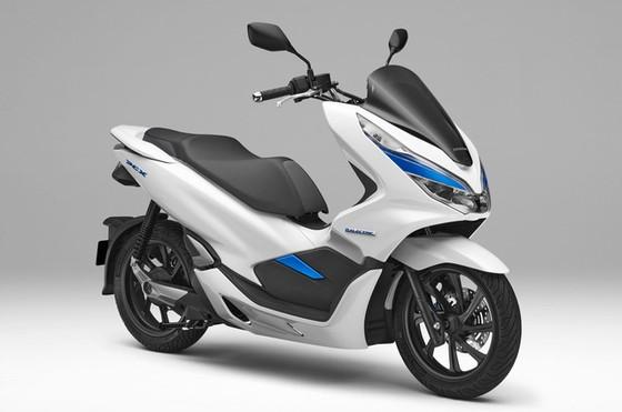 Bộ đôi Honda PCX Hybrid và PCX Electric được vén màn, sẽ bán vào năm sau - Ảnh 8.