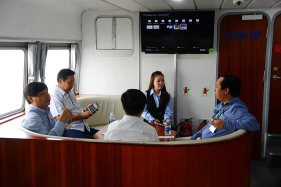 23-12 khai trương tuyến tàu cao tốc TP.HCM - Cần Giờ - Vũng Tàu - Ảnh 2.