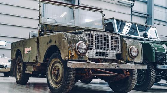 Đây là kho tàng xe cổ bí mật của Jaguar Land Rover - Ảnh 21.