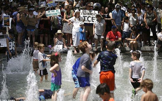 Hoa Kỳ đảo lộn vì nắng nóng kỷ lục  ảnh 4