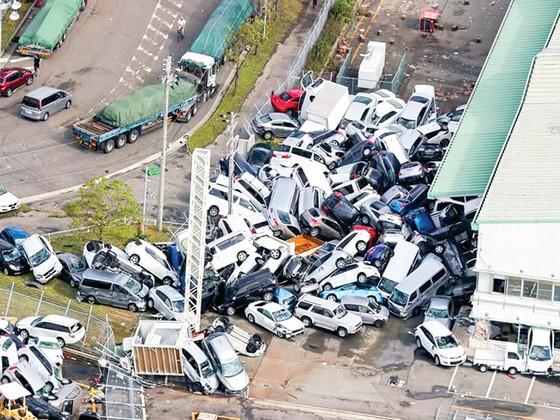 Siêu bão Jebi tàn phá Nhật Bản ảnh 1