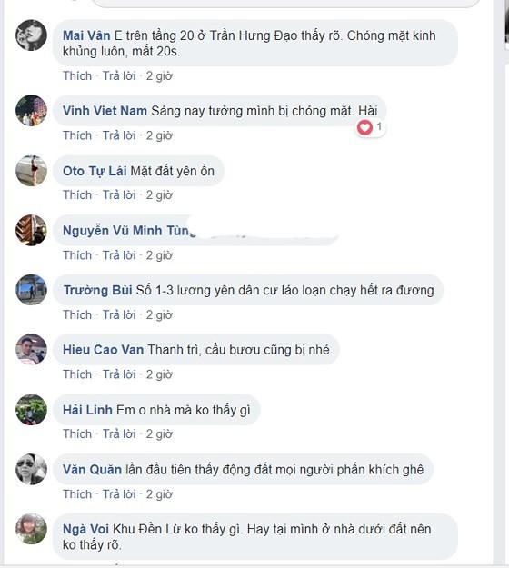 Người dân Hà Nội nhốn nháo vì dư chấn động đất ảnh 3