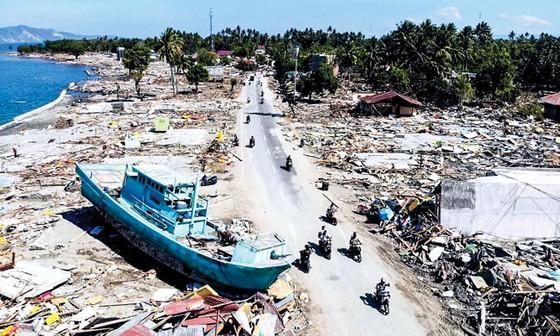 Indonesia tan hoang sau động đất - sóng thần ảnh 12