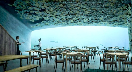 Nhà hàng dưới nước lớn nhất thế giới ảnh 1