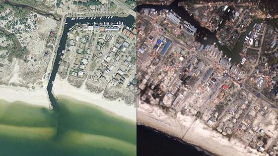 Siêu bão Michael tấn công Florida: 17 người chết, một căn cứ quân sự bị san bằng, cả thị trấn bị xóa sổ ảnh 1