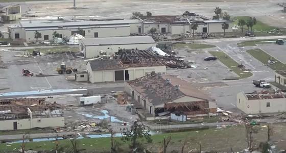Siêu bão Michael tấn công Florida: 17 người chết, một căn cứ quân sự bị san bằng, cả thị trấn bị xóa sổ ảnh 11