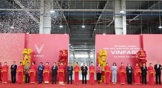 Vinfast khánh thành nhà máy sản xuất và ra mắt mẫu xe máy điện thông minh ảnh 1
