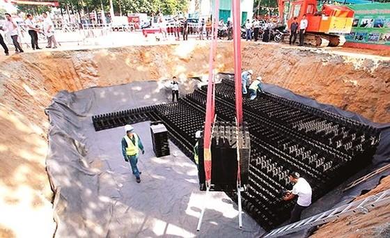 Xây dựng hồ điều tiết ngầm giảm ngập tại quận Thủ Đức, TPHCM
