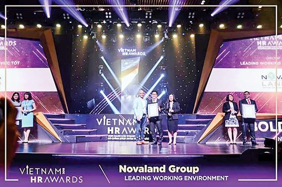 Novaland lần thứ 2 liên tiếp vinh danh tại Vietnam HR Arward 2018 ảnh 1