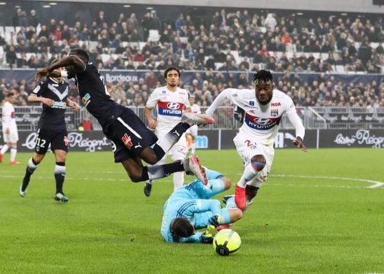 Bordeaux đánh bại Lyon 3-1. Ảnh Getty Images.