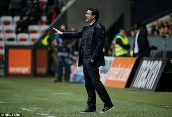 HLV Unai Emery của PSG.