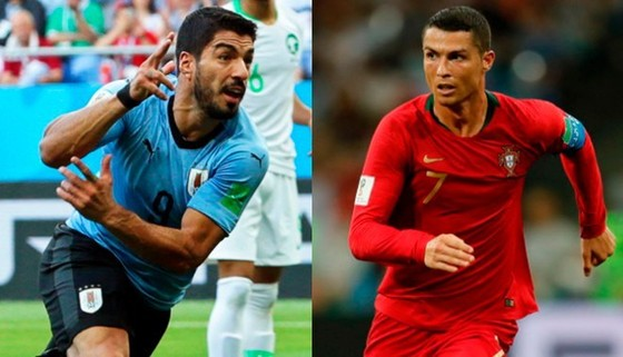 Uruguay - Bồ Đào Nha: Ronaldo trong vòng vây sát thủ