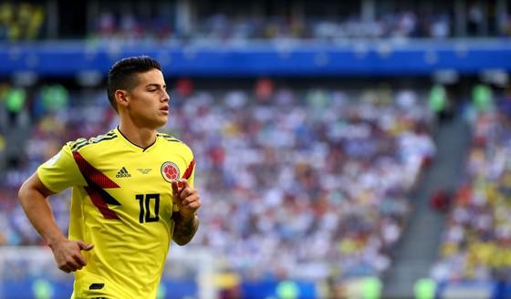 James Rodriguez sẽ kịp hồi phục chấn thương để ra sân gặp tuyển Anh.