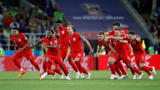 Anh tiến vào từ kết World Cup 2018 bằng chiến thắng trước Colombia.