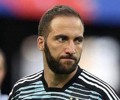 Gonzalo Higuain cóp lẽ hơi thất vọng khi phải sang MIlan