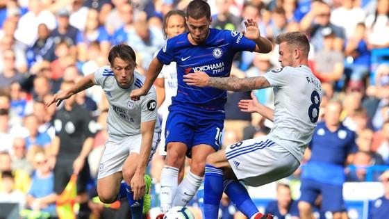 Chelsea - Cardiff City 4-1:Hazard ghi hat-trick, Chelsea chiếm ngôi đầu ảnh 3