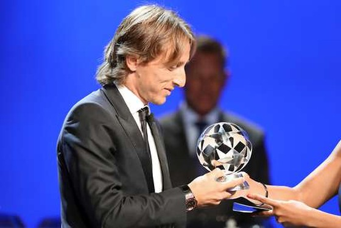 Luka Modric sẽ nhận phần thưởng xứng đáng vào đêm 24-9 tới.