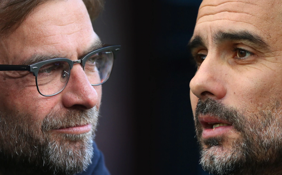 Jurgen Klopp (Liverpool) và Pep Guardiola (Man.City)
