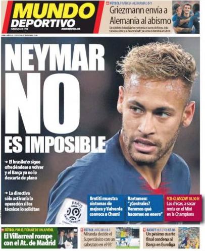 Neymar muốn trở lại Barca để đoàn tụ Messi ảnh 2