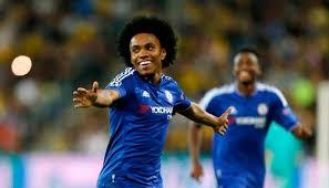 Tiền đạo Willian (Chelsea)