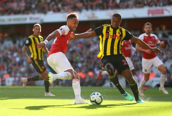 Aubameyang (trái, Arsenal) sẽ có cơ hội tỏa sáng