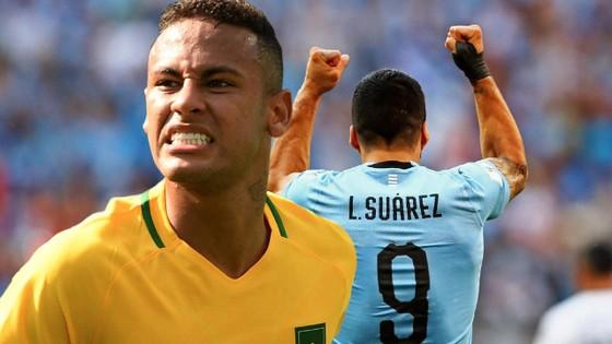 Neymar sẽ đụng độ Uruguay trên sân Emirates
