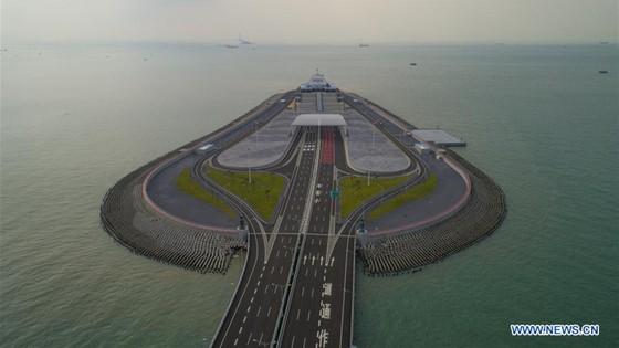 Trung Quốc khánh thành cây cầu vượt biển dài nhất thế giới nối Hong Kong với đại lục ảnh 5