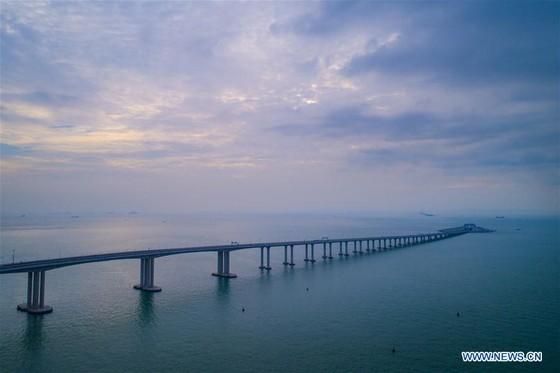 Trung Quốc khánh thành cây cầu vượt biển dài nhất thế giới nối Hong Kong với đại lục ảnh 9