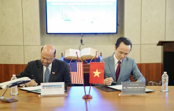 Bamboo Airways ký thỏa thuận mua 20 máy bay Boeing 787-9 Dreamliner ảnh 1