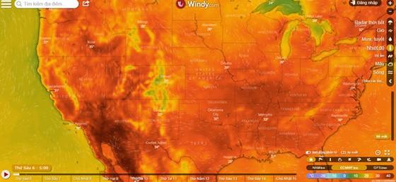 Thế giới hứng chịu đợt nắng nóng kinh hoàng ảnh 1