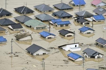 Lũ lụt và lở đất ở Nhật Bản, ít nhất 87 người thiệt mạng ảnh 2