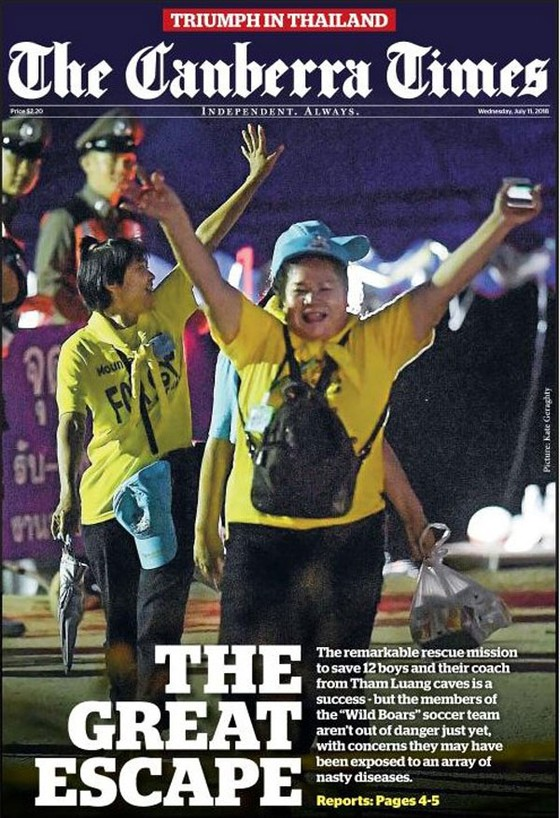Báo chí thế giới đồng loạt ca ngợi hoạt động giải cứu tại Thái Lan ảnh 3