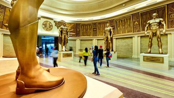 Công viên giải trí tỷ đô trong nhà ở Abu Dhabi ảnh 6